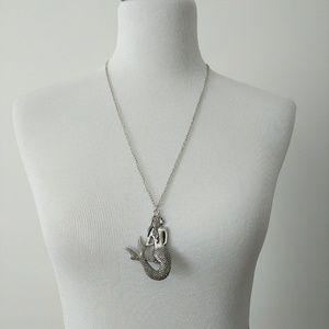 Laghcat Mermaid Pendant Necklace Silver